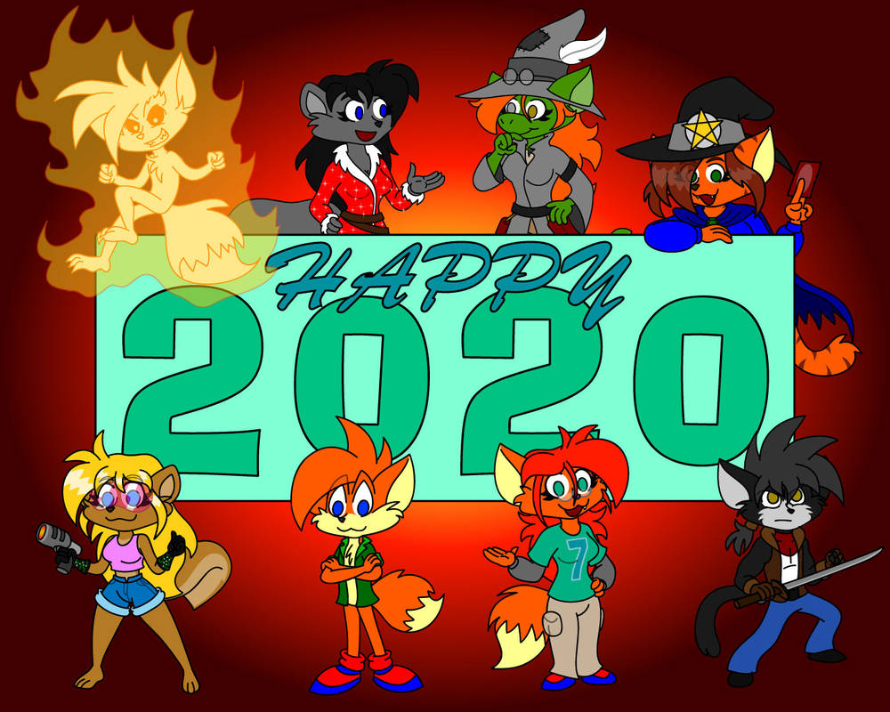 Happy 2020 by TheRealSneakers