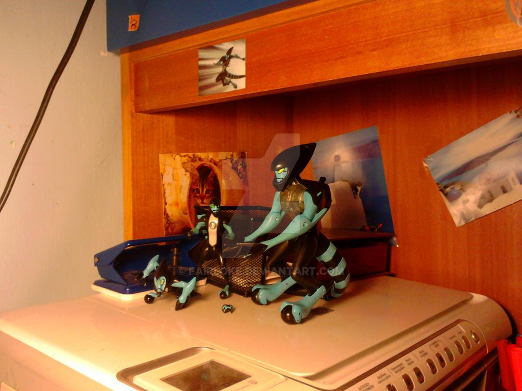 My XLR8 figurines! :D by Venetia-TH