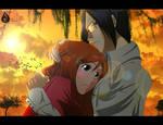 Point Commission: Orihime Inoue and Uryu Ishida by Fairloke