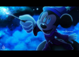 90 years of Mickey Mouse's magic by Fairloke