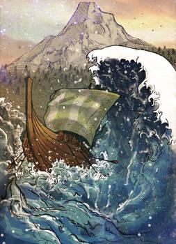 Viking Hokusai