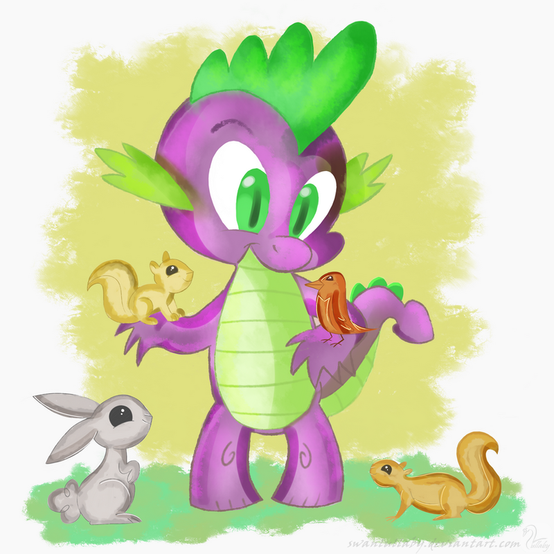 Spike by SwanLullaby