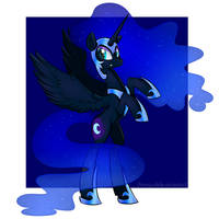 <b>Nightmare Moon</b><br><i>SwanLullaby</i>