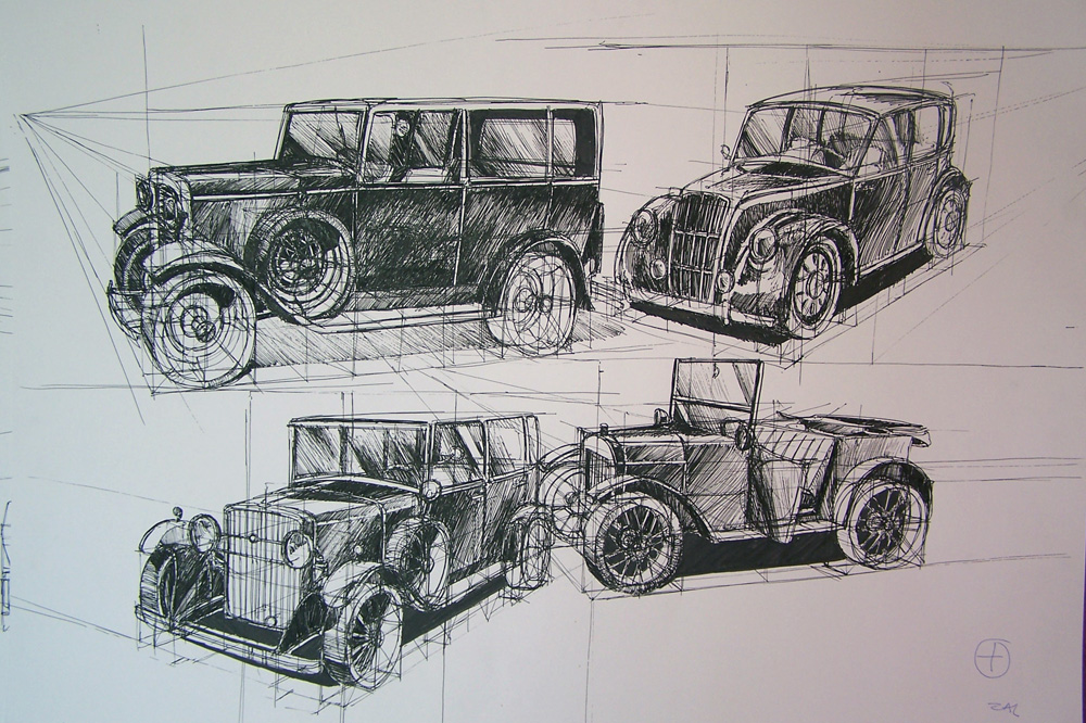 Old Cars by Ancreathe