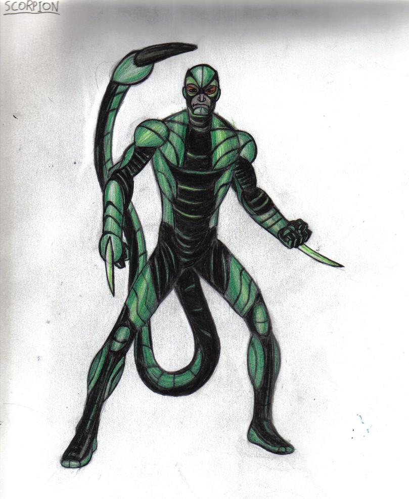 Spider Man Villain Scorpion