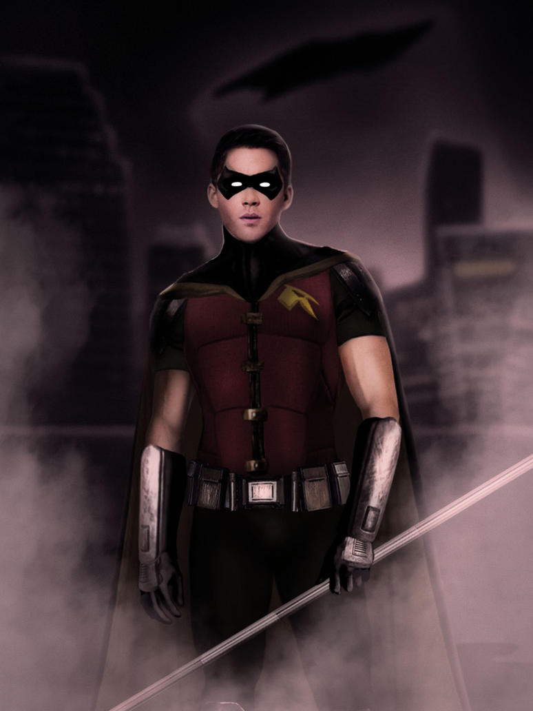 Robin-Poster by ricktimusprime0825