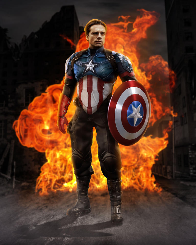 Captain America Rising by ricktimusprime0825