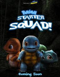 Pokemon Starter Squad poster by ricktimusprime0825