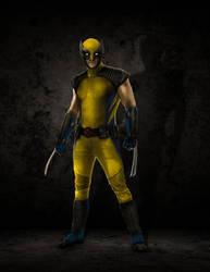 Wolverine Concept Costume by ricktimusprime0825