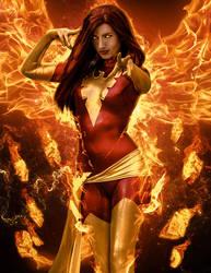 Amanda Lynne Dark Phoenix Manip by ricktimusprime0825
