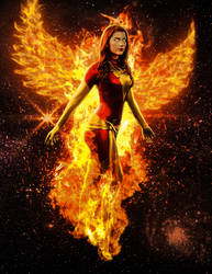 Amanda Lynne Dark Phoenix Manip 02 by ricktimusprime0825