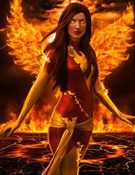 Amanda Lynne Dark Phoenix Manip 05 by ricktimusprime0825