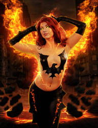 Amanda Lynne Dark Phoenix Manip 06 by ricktimusprime0825