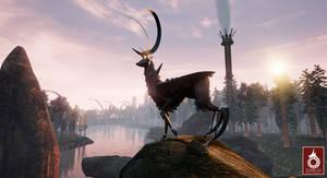 Beast: Deer - DARCO - Reign of Elements by TP-Studios