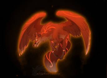 Fire red Fox by Miu3