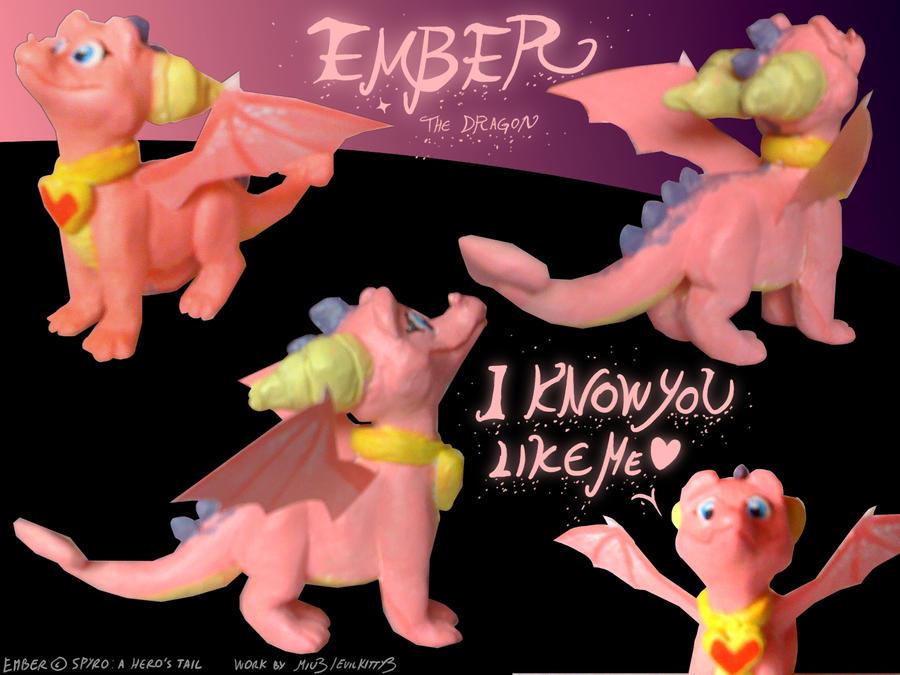 Ember figure by Miu3