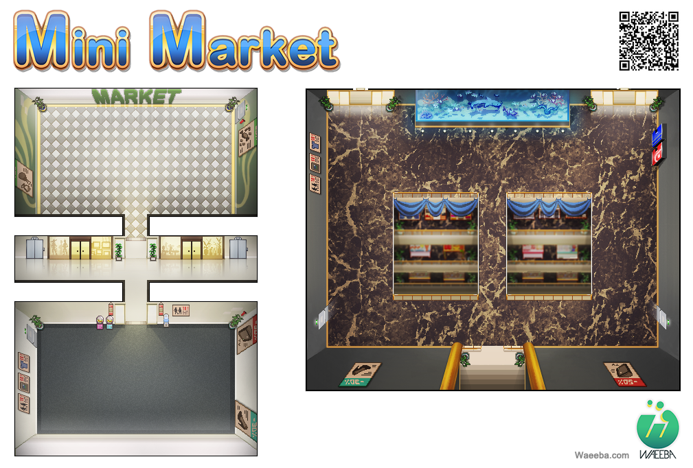 Mini market 02 by doodah on deviantart for Mini market interior design ideas