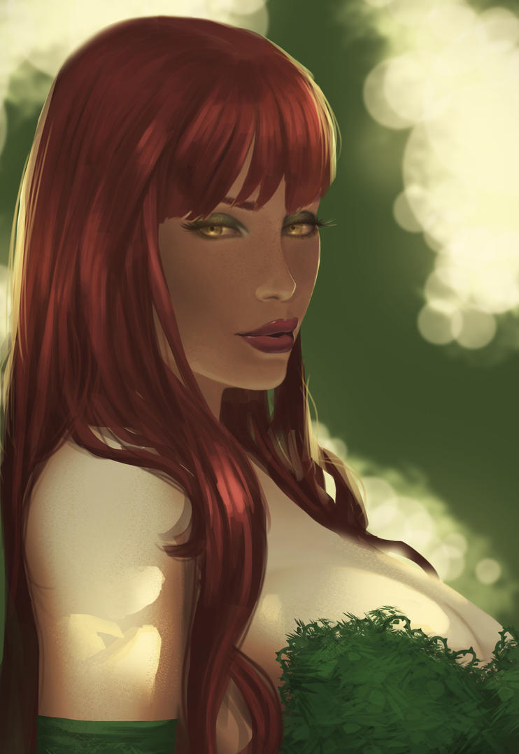 Poison Ivy close-up by Doodah