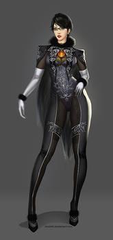 BAYONETTA 2 Character Design by Doodah