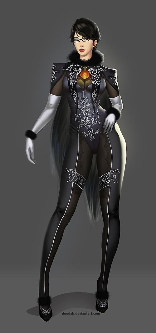 BAYONETTA 2 Character Design
