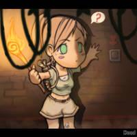 Tomb Raider SD Fanart by Doodah