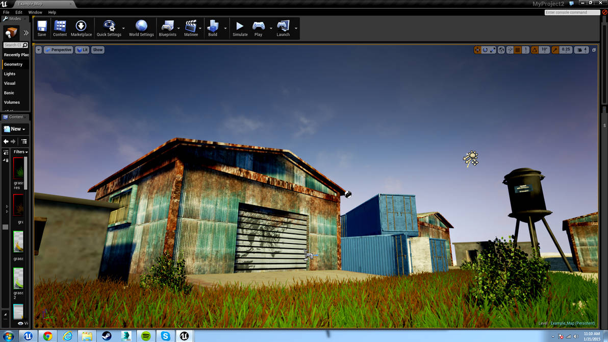 How To Render Image In Unreal Engine