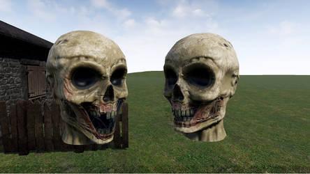 Zombie Head (Game Model)