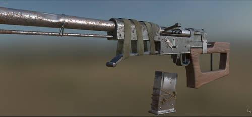 Post-Apocalypse Sniper Rifle