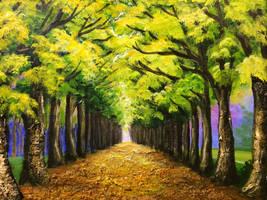 Green Road by llenllawg