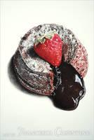 Chocolate dessert by 19Frency94-Art