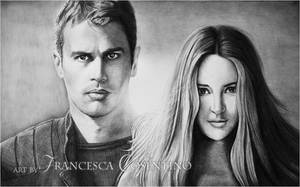 Four and Tris of Divergent by 19Frency94-Art