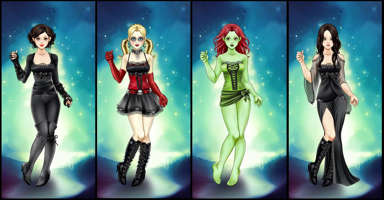 Batman Female Villains by alefolla ...  sc 1 st  DeviantArt & Batman Female Villains by alefolla on DeviantArt