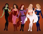 Various Marvel Women