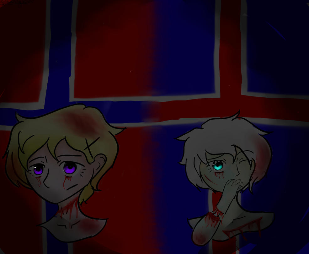 Norway and Iceland by HetalianRoses