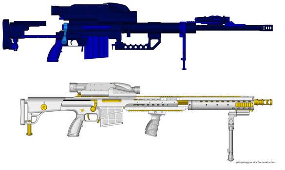 S.O.L.A and L.U.N.A Sniper Rifles