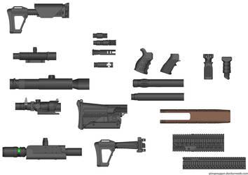 Morgan Armory Custom Pieces.