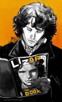 Jim Morrison reads Lizard by mstrychowska