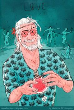Hippie Geralt