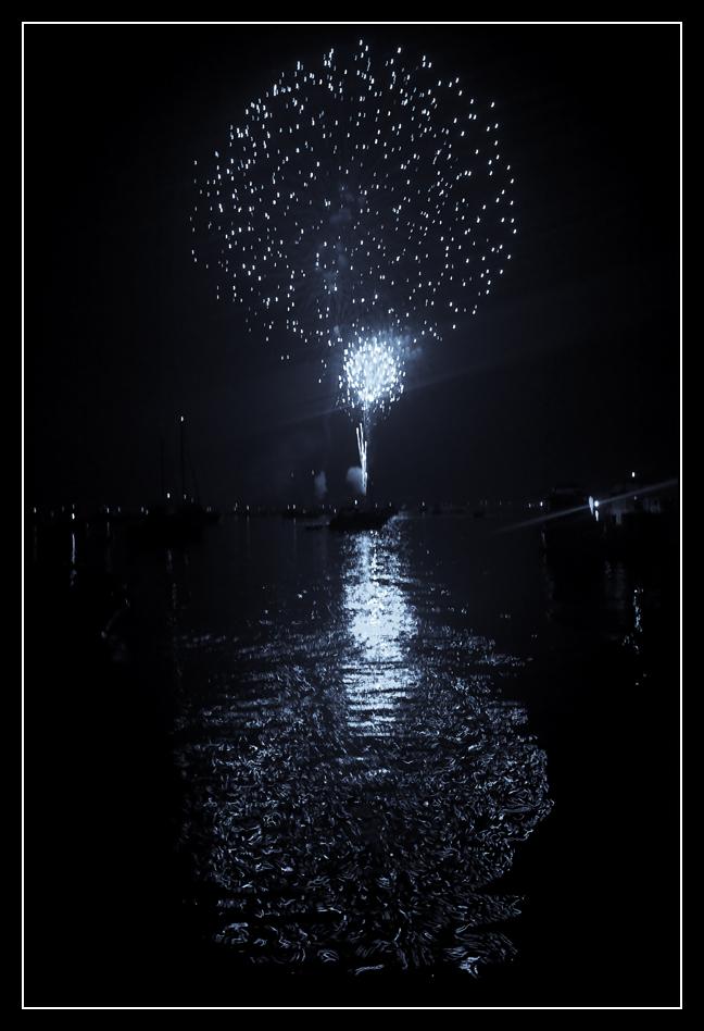 Fireworks Blue II by ahedrick201