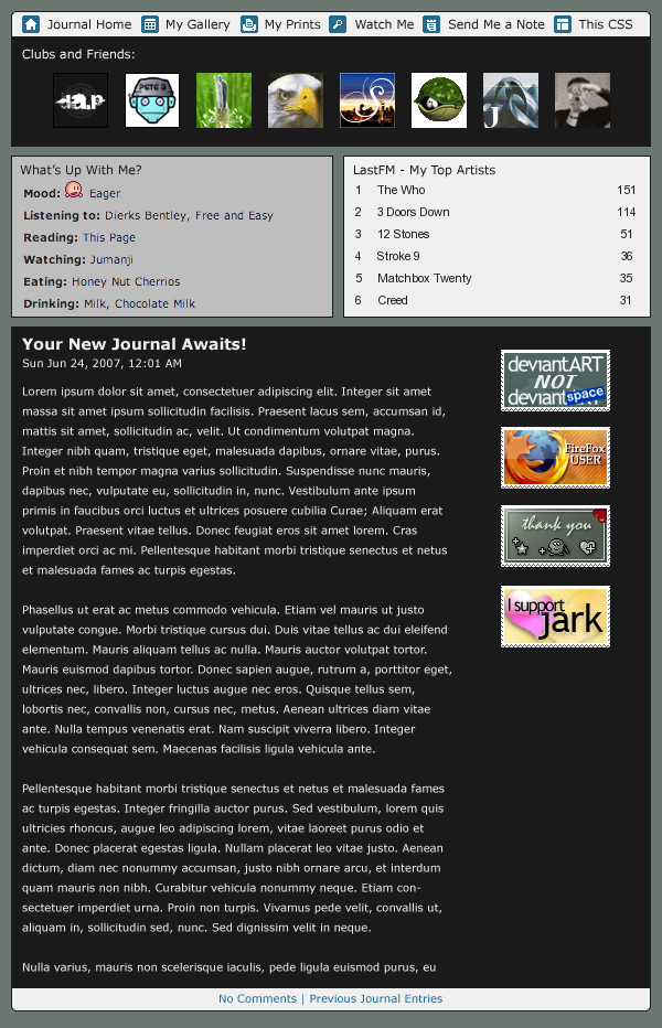 Journal CSS Triple by ahedrick201
