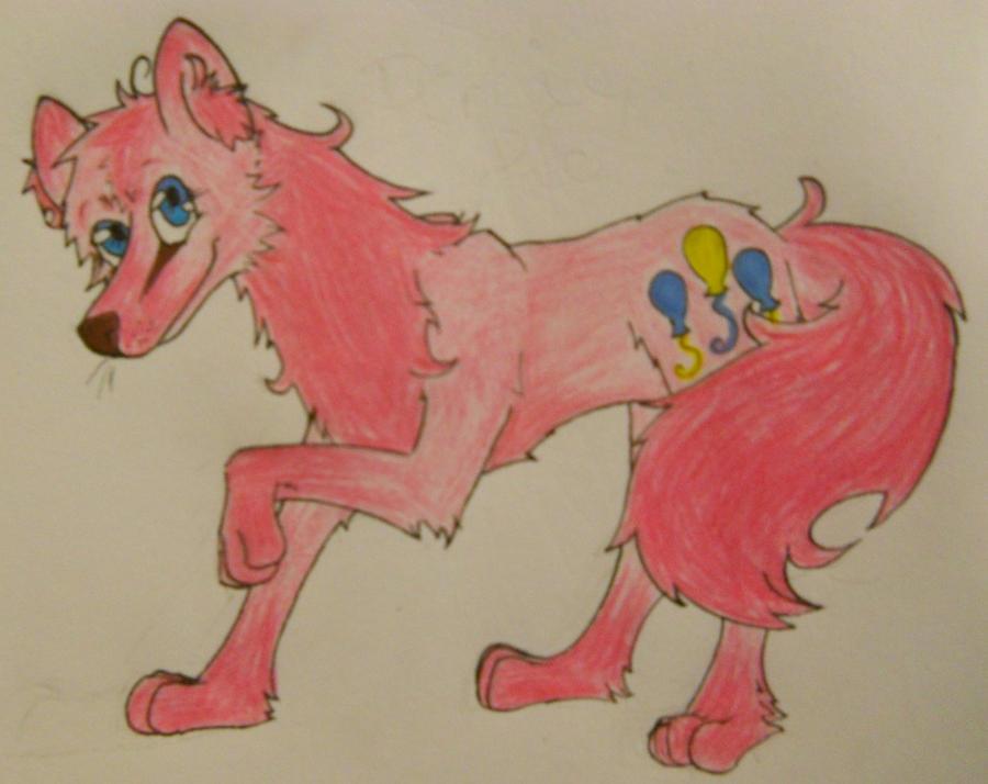 Pinkie pie wolf