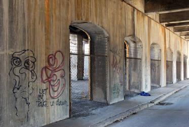 Arches and Graffiti by KameleonKlik