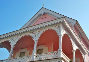 Pink House by KameleonKlik