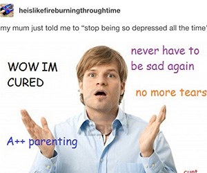 Depressed by Deertine