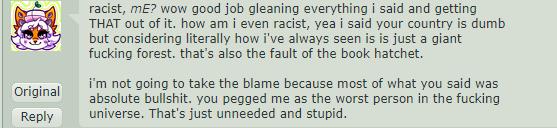 Racist 3 by Deertine