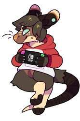 Local rat joins splatoon tournament