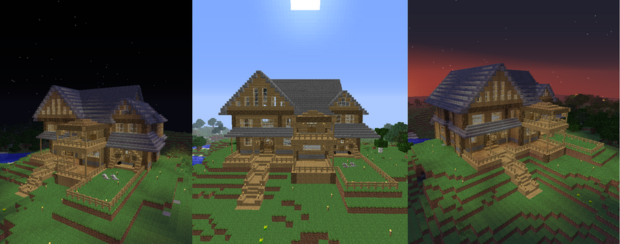Minecraft Cabin By NyanOwloo On DeviantArt