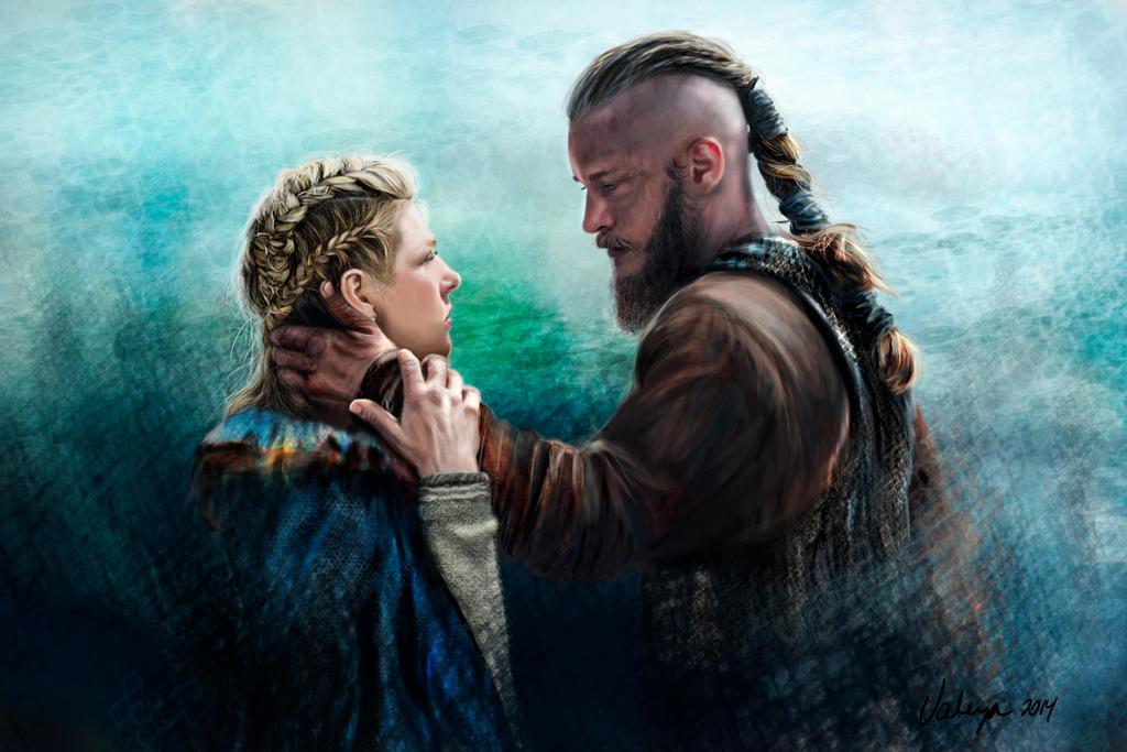 Ragnar Lothbrok and Lagertha