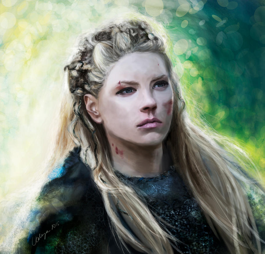 Lagertha Face Paint