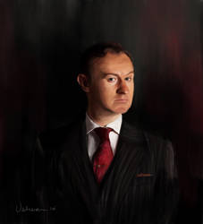 Mycroft Holmes by RussianVal